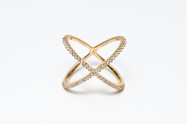 Avenue Chic X Ring - The Gathering Shops