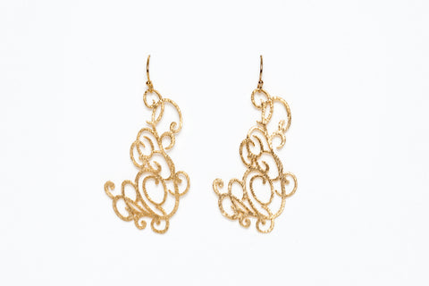Avenue Chic Lace Earrings - The Gathering Shops