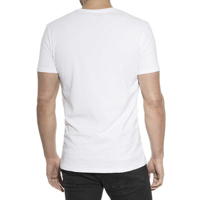94% Organic Cotton Crew Neck in White - The Gathering Shops