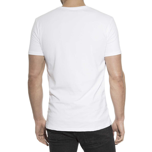 Bread & Boxers 2-Pack Crew Neck T-Shirt - Black and White - The Gathering Shops
