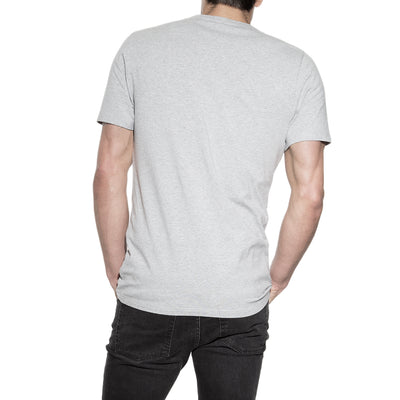 94% Organic Cotton Crew Neck in Grey - The Gathering Shops