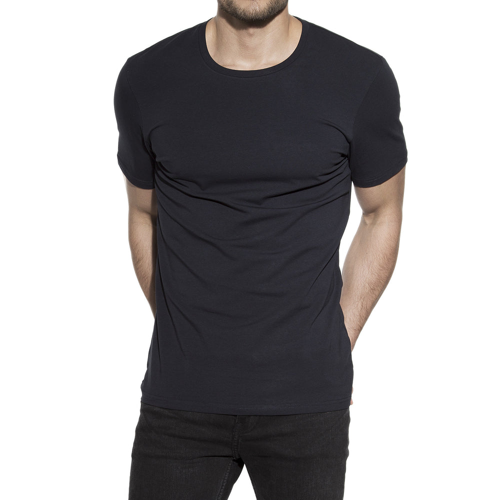 Bread & Boxers 94% Organic Cotton Crew Neck - Dark Navy - The Gathering Shops