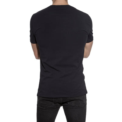 94% Organic Cotton Crew Neck in Dark Navy - The Gathering Shops