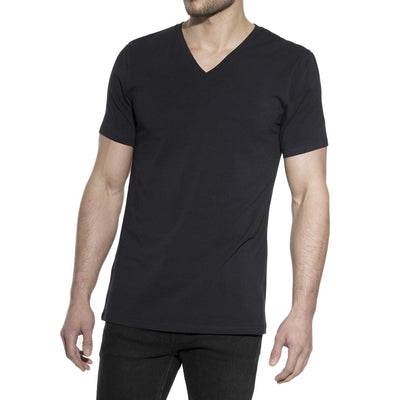 94% Cotton V-Neck Crew T-Shirt - The Gathering Shops