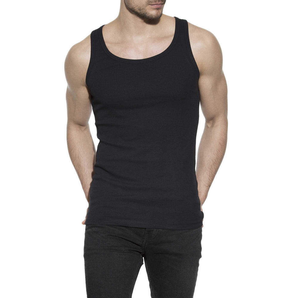 Bread & Boxers 100% Cotton Ribbed Tank Top - The Gathering Shops