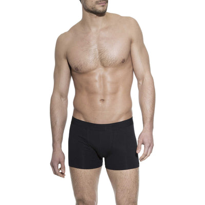 3-Pack Men's Boxer Brief Underwear in Black - The Gathering Shops