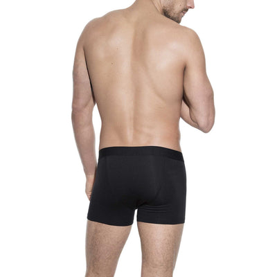 Bread & Boxers 3-Pack Mens Boxer Brief Underwear - Black - The Gathering Shops