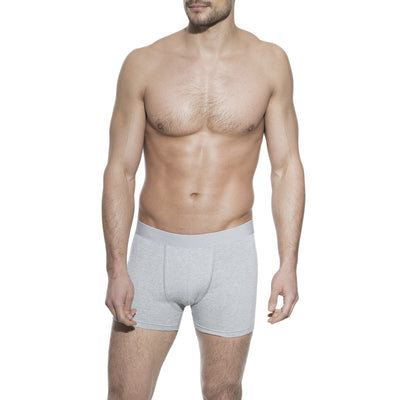 3-Pack Men's Boxer Brief Underwear in Grey - The Gathering Shops
