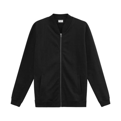 100% Cotton Zip-Up Jersey Jacket - The Gathering Shops