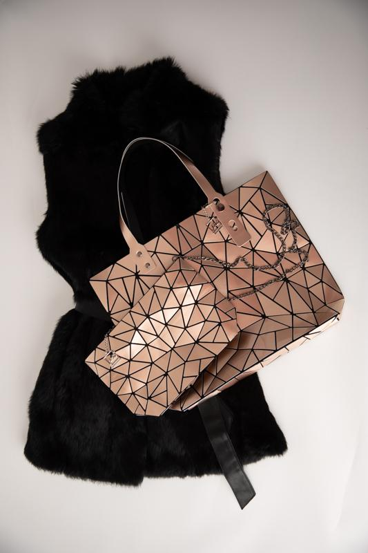 Ice Cold Laser Chain Cross Body Bag