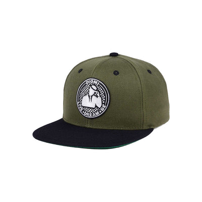 Circle Stamp Snapback Hat - The Gathering Shops