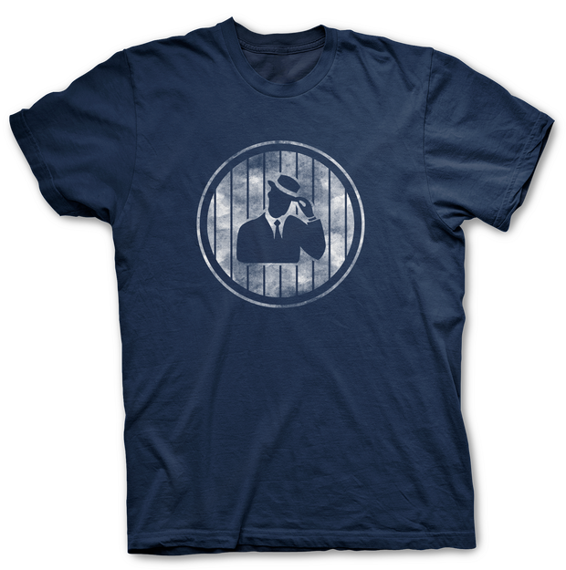 "Digmi ""Yankee Pinstripe"" Legend Navy Tee - The Gathering Shops"