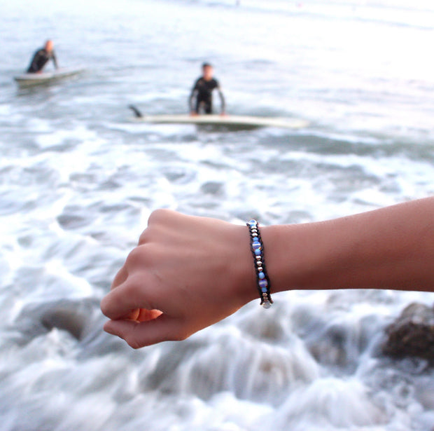 Lotus And Luna Coastal Fog Bracelet