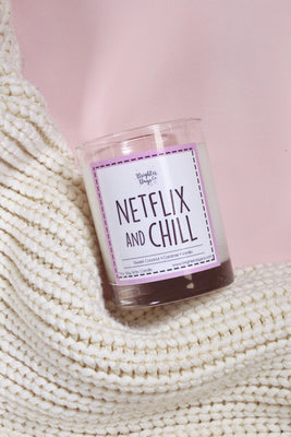 Brighter Days Netflix & Chill Candle - The Gathering Shops