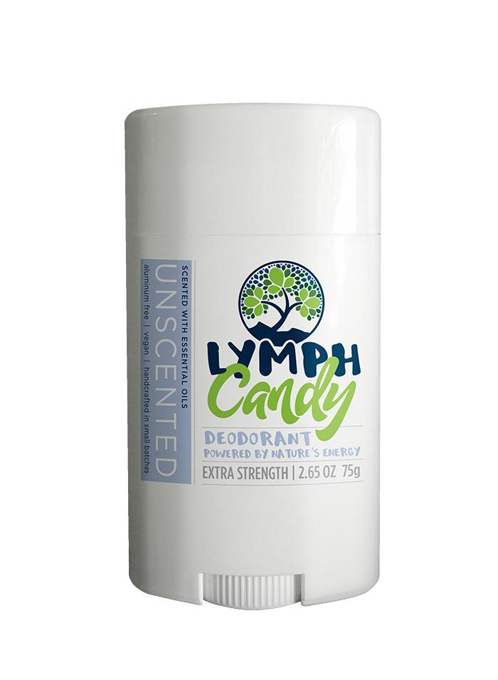 Lymph Candy Unscented Deodorant - The Gathering Shops