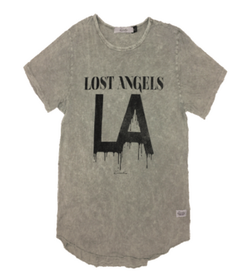 Kinetix Lost Angeles LA Crew Tee - The Gathering Shops