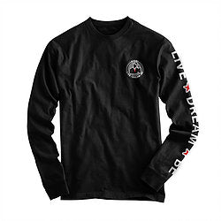 """Live*Dream*Be"" Long Sleeve Tee - The Gathering Shops"