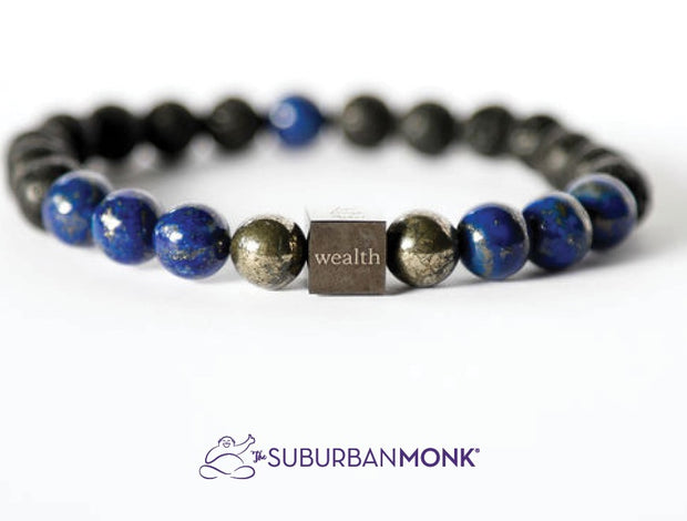 The Suburban Monk Wealth Mala Bracelet - The Gathering Shops