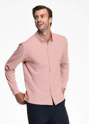 Swet Tailor Mens Mindful Shirt In Pearl Blush