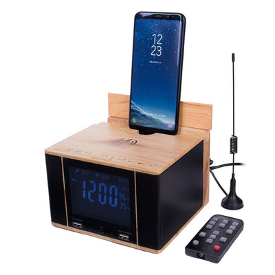 SonicCharge Alarm Clock & Universal Phone Charger - The Gathering Shops