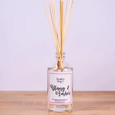 Brighter Days Ylang & Amber Reed Diffuser - The Gathering Shops