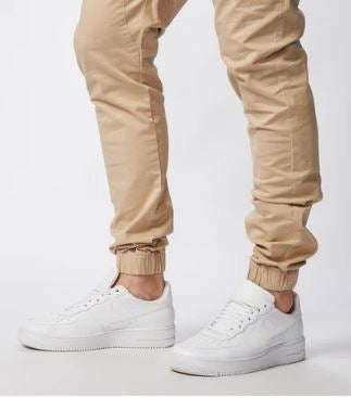 Zanerobe Tan Sureshot Jogger Pants - The Gathering Shops