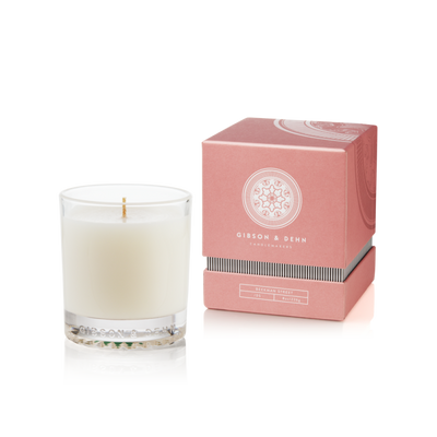 Gibson & Dehn Peony & Hyacinth Single Wick Candle - The Gathering Shops