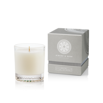 Gibson & Dehn Vanilla Chiffon Single Wick Candle - The Gathering Shops