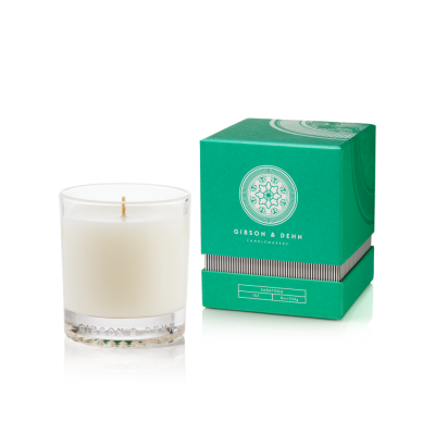 Gibson & Dehn White Tea & Cedar Single Wick Candle - The Gathering Shops