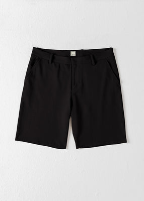 Swet Tailor EveryDay Chino Shorts Black - The Gathering Shops