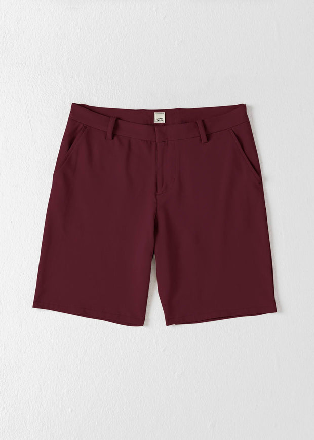 Swet Tailor EveryDay Chino Shorts Oxblood