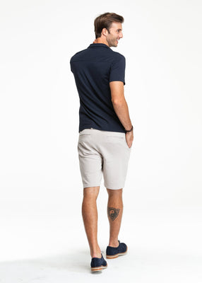 Swet Tailor EveryDay Chino Shorts Deeper Stone - The Gathering Shops