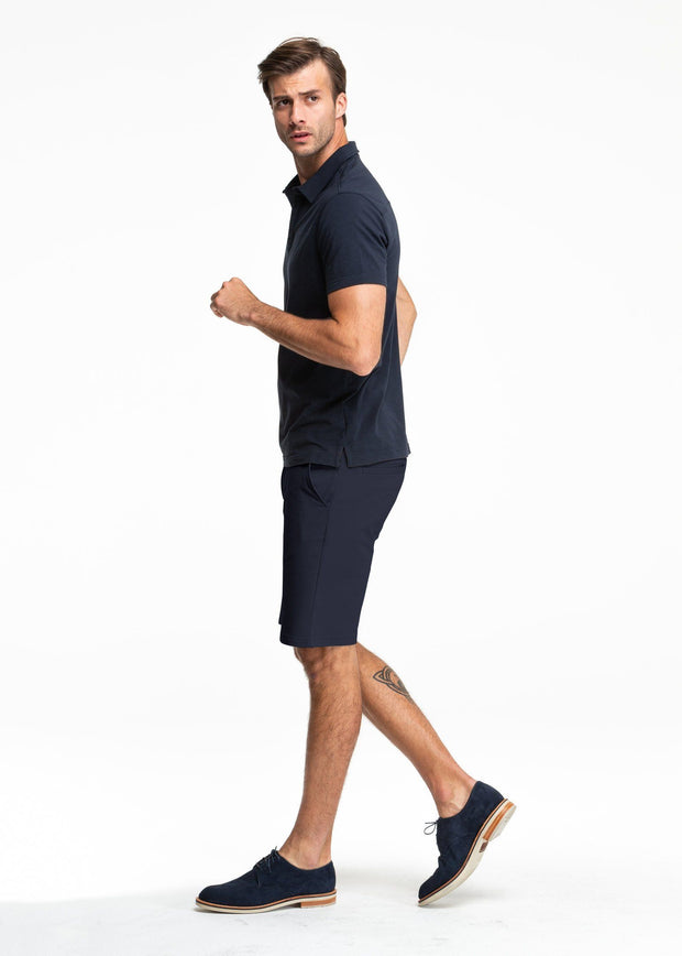 Swet Tailor EveryDay Chino Shorts Navy - The Gathering Shops