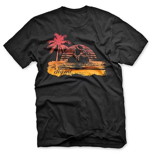 Digmi Paradise Beach Short Sleeve T-Shirt - The Gathering Shops