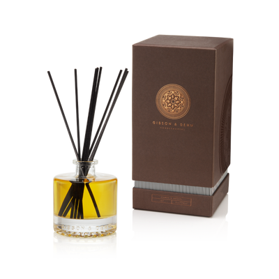 Gibson & Dehn Pumpkin Brulee Diffuser - The Gathering Shops