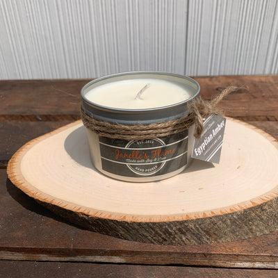 Janelle's Flame Egyptian Amber Soy Candle - The Gathering Shops