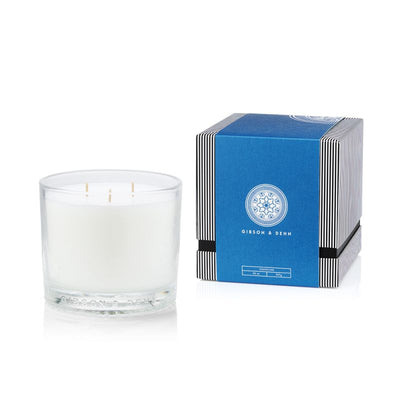 Gibson & Dehn Coastline Three Wick Candle - The Gathering Shops
