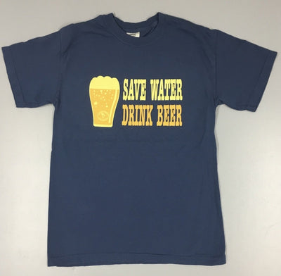 Nothing Better Life Mens Save Water Drink Beer Graphic Tee - The Gathering Shops
