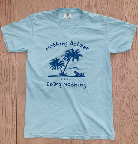 Nothing Better Life Mens Palm Tree Graphic Tee - The Gathering Shops