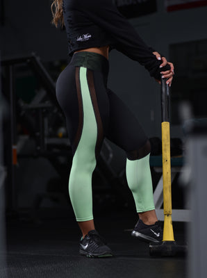 LaMera LaMia Vibrant Green Leggings - The Gathering Shops