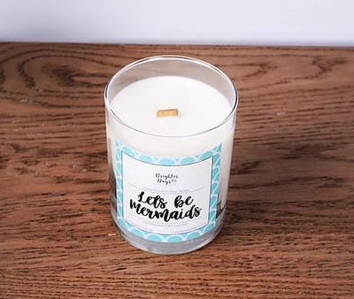 Brighter Days Let's Be Mermaids Candle - The Gathering Shops