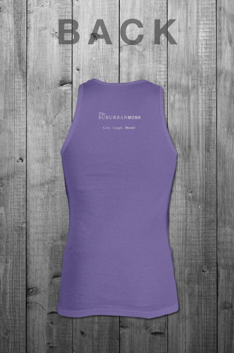 The Suburban Monk Purple Tank Top - The Gathering Shops