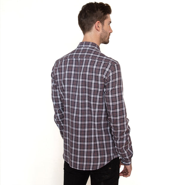 Vustra Mist Long Sleeve Button Down Shirt - The Gathering Shops