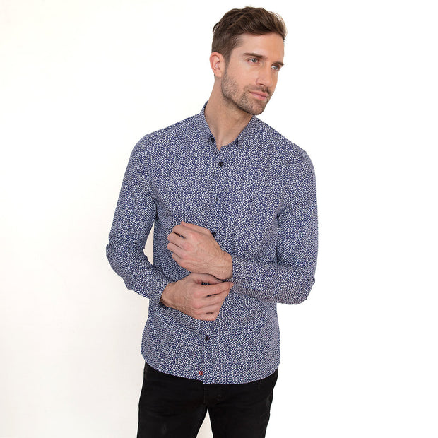 Vustra Flying Sailor Long Sleeve Button Down Shirt - The Gathering Shops