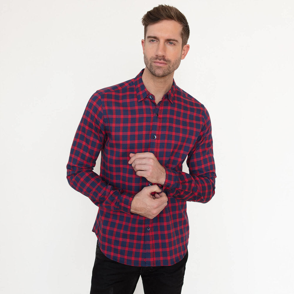 Vustra Underground Long Sleeve Button Down Shirt - The Gathering Shops