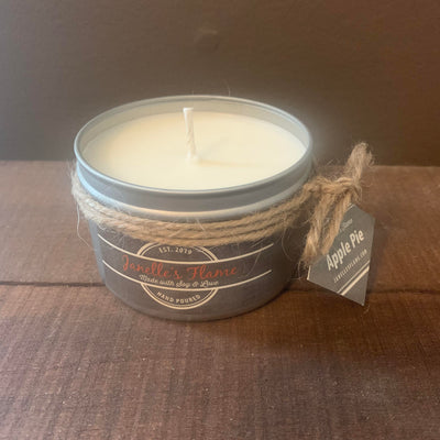 Janelle's Flame Apple Pie Soy Candle - The Gathering Shops