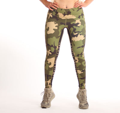 LaMera Vicki Camo Legging - The Gathering Shops