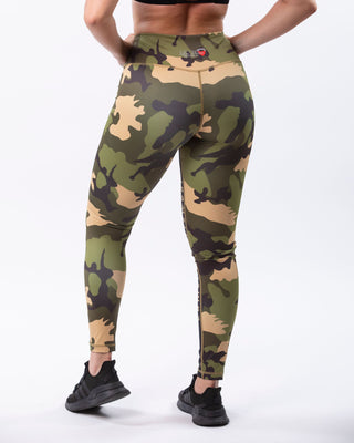 LaMera Vicki Camo Leggings - The Gathering Shops