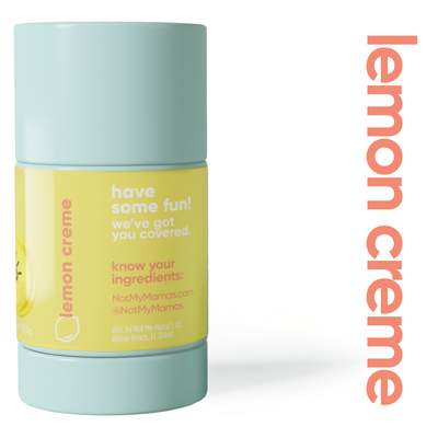 Not My Mamas Movie Night Lemon Creme Natural Deodorant - The Gathering Shops