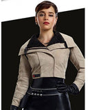 Emilia Clarke Solo: A Star Wars Story Jacket - Get Custom Leather Jackets